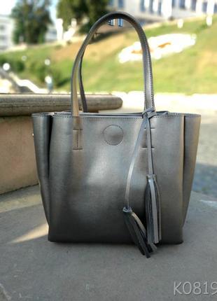 Стильная вместительная сумка с кисточками в шести расцветках🌈