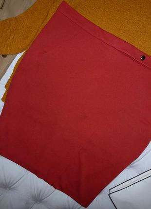 16 р-р шикарная юбка с карманами