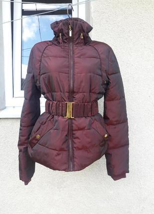Класна куртка бордо incity 42 p