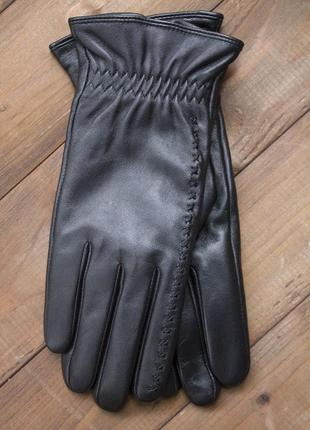 Женские кожаные сенсорные перчатки из очень качественной кожи
