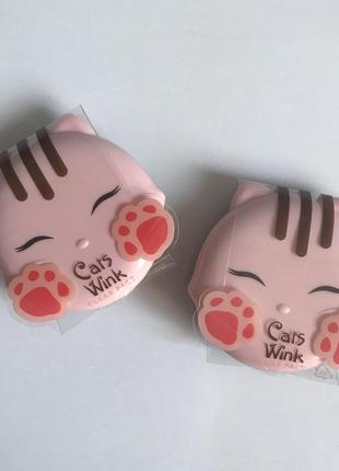 Пудра для лица tony moly cats wink clear pact 2 clear beige
