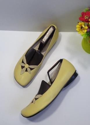Туфли на широкую ножку