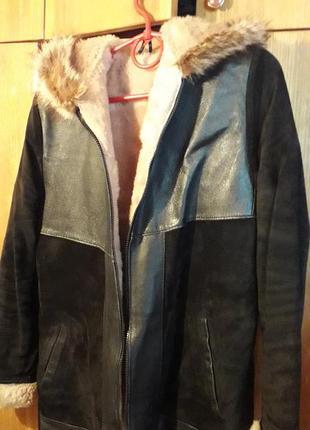Женская куртка, дубленка