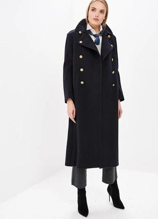 Пальто шерстяное осень - зима polo ralph lauren оригинал размер s