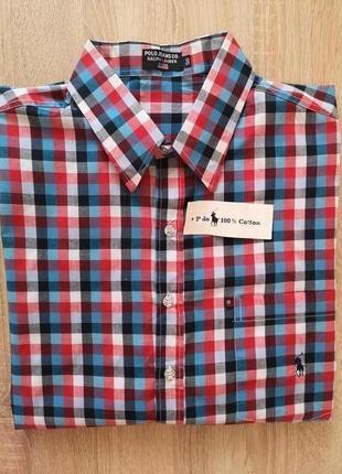 Рубашка polo jeans co ralph lauren xl(50)