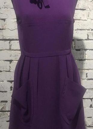 Платье miu miu оригинал 40 фиолетовое