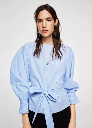 Бавовняна блузка mango