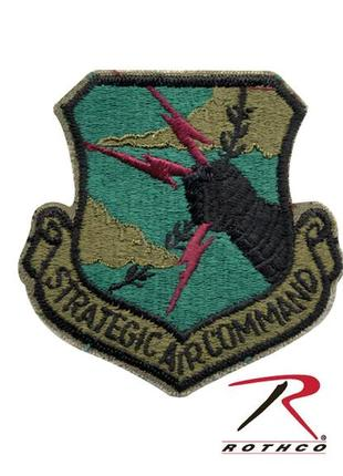 Нашивки rothco strategic air command patch