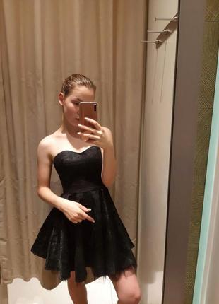 Шикарное вечернее/выпускное платье без бретелек