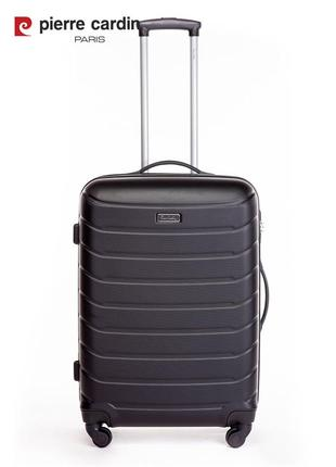 Pierre cardin unisex чемодан среднего размера5 фото