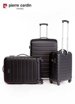 Pierre cardin unisex чемодан среднего размера6 фото