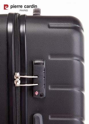 Pierre cardin unisex чемодан среднего размера3 фото