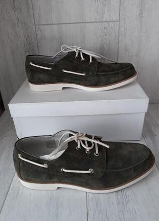 Камуфляжные кожаные лоферы от stefano gamba