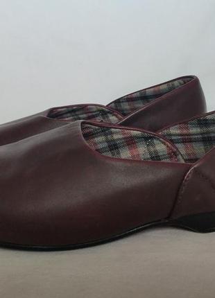 Туфли clarks для носки на босую ногу. size 8.5