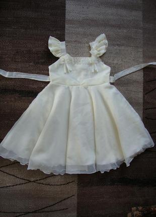 Платье нарядное карнавальное новогоднее вечернее