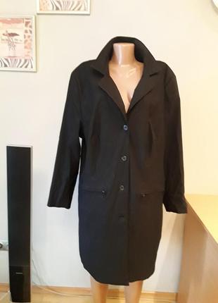 Стильный удлиненный пиджак/ тренч