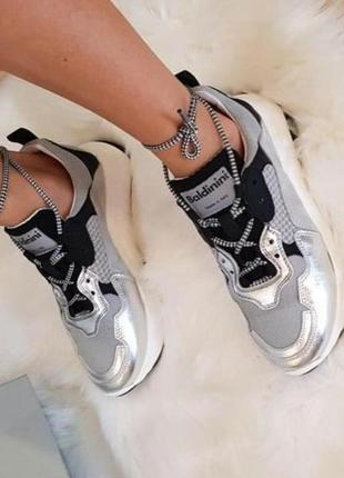 Срочно! скидка! женские кроссовки baldinini летняя коллекция размер 39 на 25-25,5 см