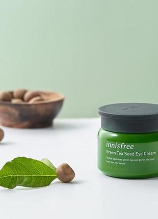Крем для кожи вокруг глаз с экстрактом семян зеленого чая от innisfree