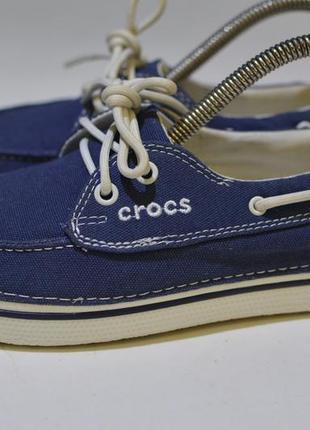 Мокасины, кеды, кроксы crocs 12060 nautical navy casual