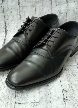 Респектабельные кожаные туфли dior made in italy 42,5 р.