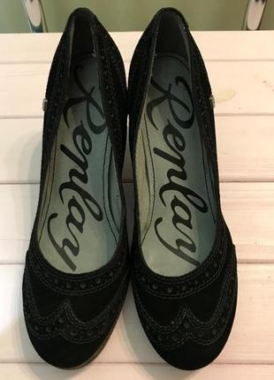 Кожаные туфли/броги, replay (италия), размер 40