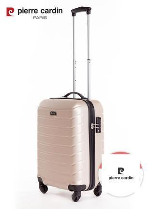 Pierre cardin unisex чемодан для ручной клади