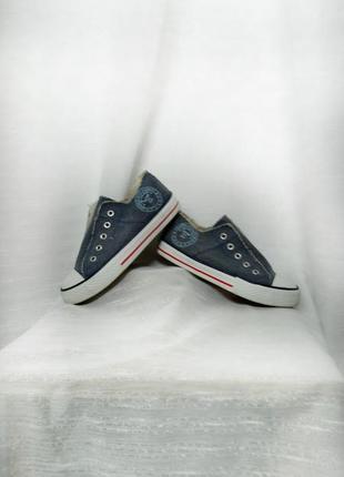 Брендовые катоновые (джинсовые )кеды