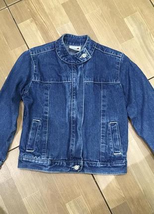 Джинсовый пиджак для девочки ladybird на 5-6 лет