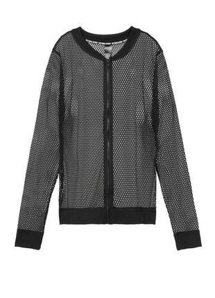 Victoria sport mesh bomber jacket, victoria's secret бомбер олмпийка
