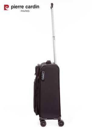 Pierre cardin unisex чемодан для ручной клади7 фото