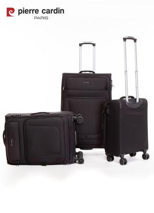 Pierre cardin unisex чемодан для ручной клади2 фото