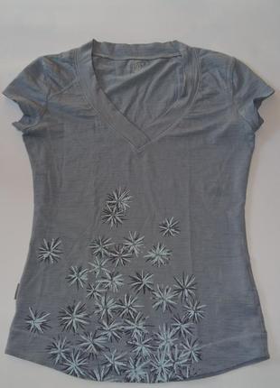 Женская спорт шерстяная термо футболка icebreaker оригинал