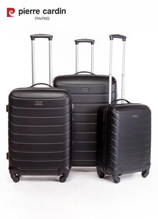 Pierre cardin unisex чемодан для ручной клади1 фото