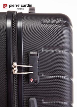 Pierre cardin unisex чемодан для ручной клади6 фото