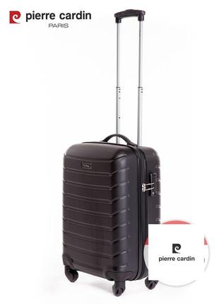 Pierre cardin unisex чемодан для ручной клади8 фото