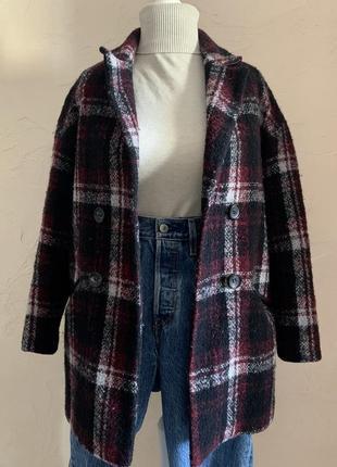 Двубортное пальто, пиджак