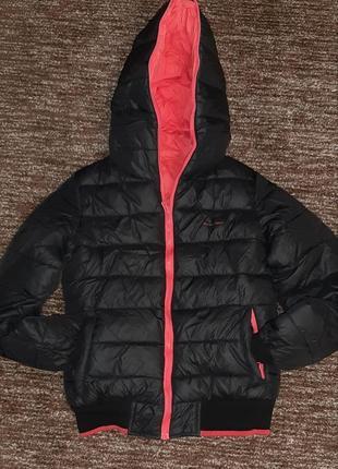 Sale!!!очень крутая двухсторонняя зимняя куртка