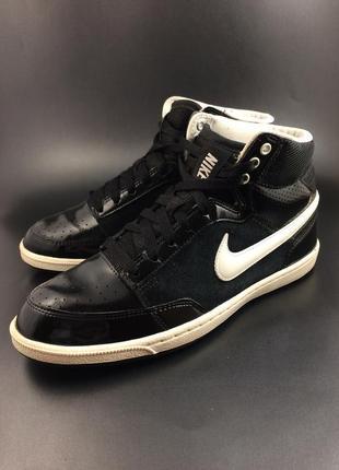 Nike стильні кеди-хайтопи лригінал