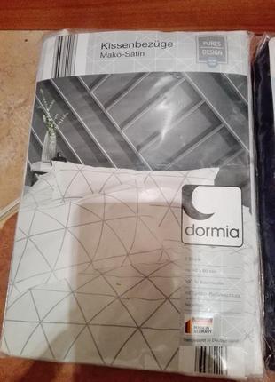 Комплект из двух наволочек dormia 40х80 см