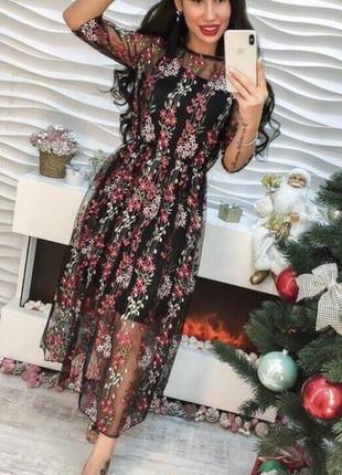 Плаття вишивка