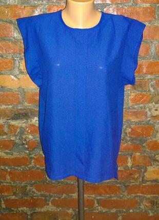 Блуза топ кофточка прямого кроя большого размера