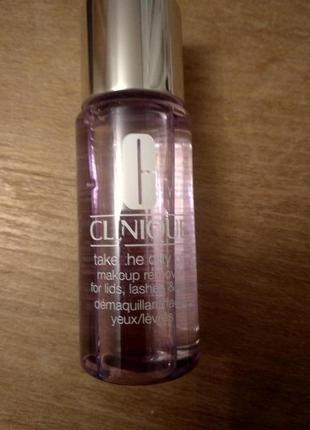 Clinique take the day off двухфазное средство для снятия стойкого макияжа1 фото