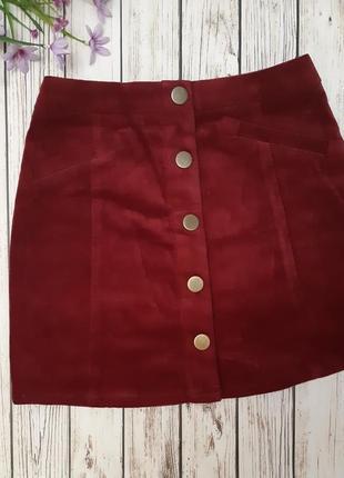 Велюровая юбочка для девочек