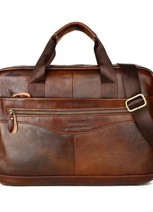 Качественная, кожаная сумка, вместительная