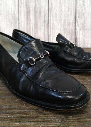 Туфли стильные кожаные lorens, черные