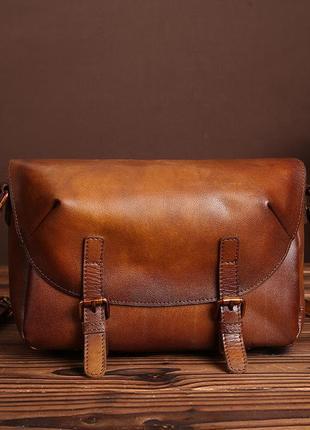 Очень красивая, кожаная сумка