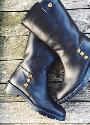 Осінні шкіряні чобітки 🍂