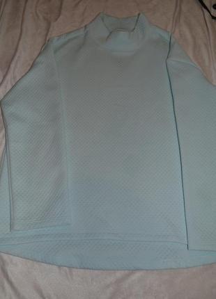 Мягусенький  пуловер из структурированной ткани серии актив от tchibo(германия)5 фото