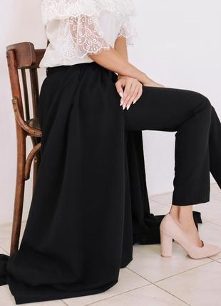 Тренд осени: юбка-брюки