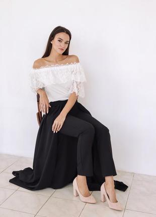 Тренд осени: юбка-брюки6 фото